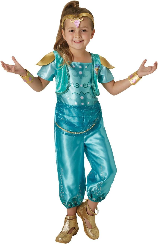 Shimmer & Shine - Disfraz de Shine para niña, infantil 3-4 años ...