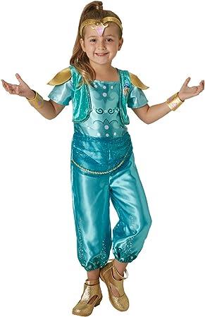 Shimmer & Shine - Disfraz de Shine para niña, infantil 5-6 años ...