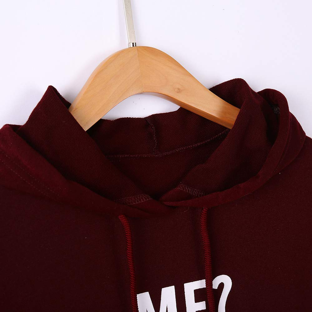 Letter Print Hooded for Womens Autumn Sweatshirt Loose Long Sleeve Pullover Tops