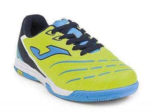 Joma - Zapatillas de fútbol Sala para Hombre Verde Verde Verde Size: 36: Amazon.es: Zapatos y complementos