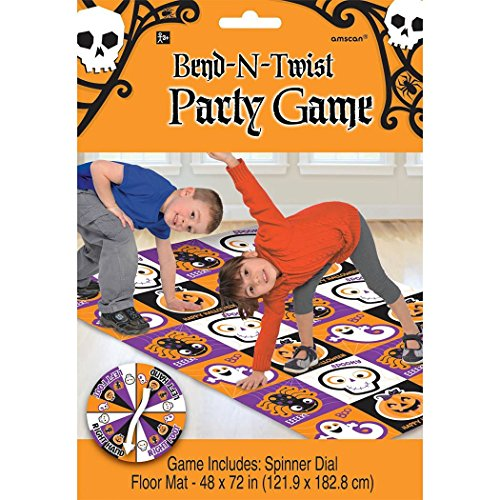 Halloween Bend and Twist Party Game (Games Halloween Party Ideas)