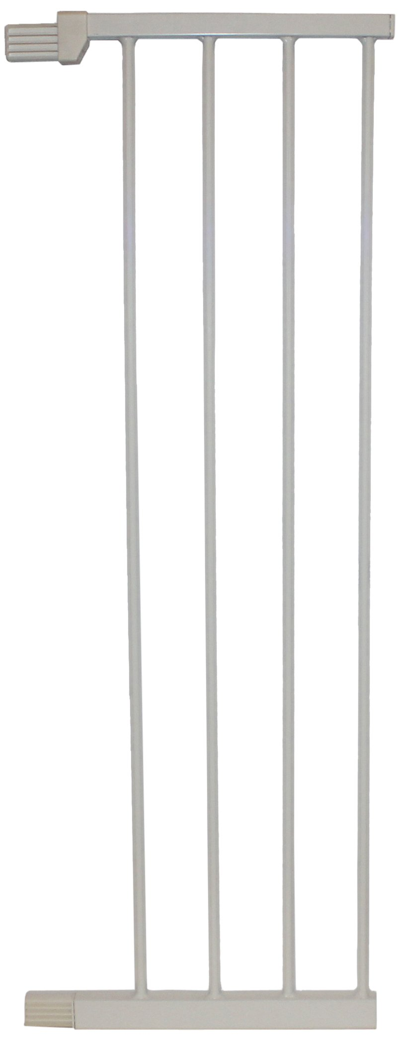 Cardinal Gates Extension for Extra Tall Premium Pressure Gate, White, Large