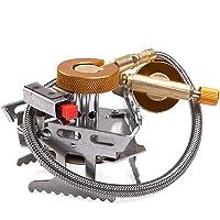 LXB Heller kampierender Gasherd, hohe thermische Leistungsfähigkeits-elektronische Zündvorrichtung-Brenner-Platten-Entwurfs-Stützstabile Sicherheits-faltende Lagerung