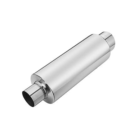 Amazon com: Exhaust Tip Turbine Muffler Resonator Inlet 2 5