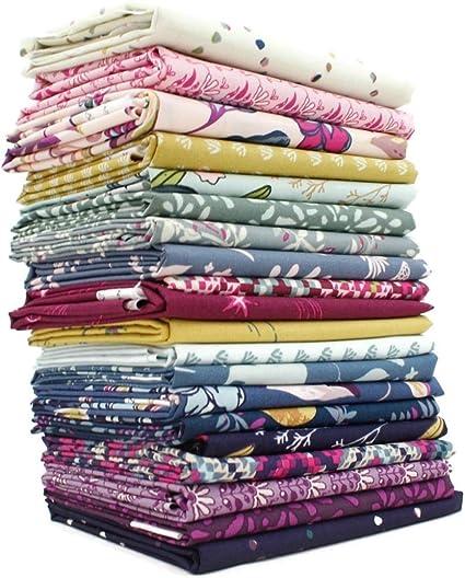 Amazon Com Mystical Land Fat Quarter Bundle 20 Pieces By Maureen Cracknell For Art Gallery 18 X 21 Inches 45 72 Cm X 53 34 Cm Fabric Cuts Diy Quilt Fabric,Crochet Beanie Pattern