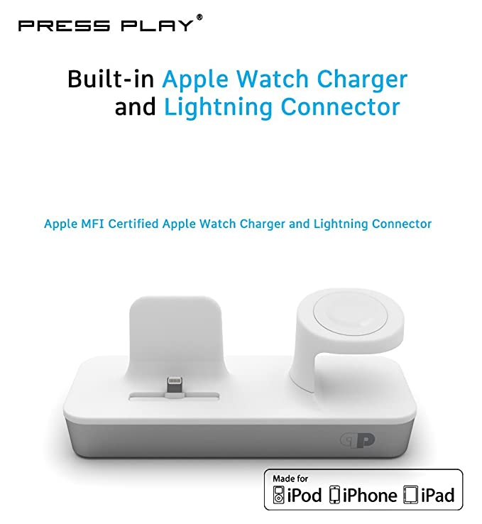Amazon One Dock Duo Apple Certified Power Station Dock Stand