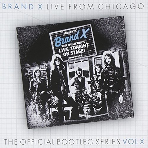 Live Chicago 1978 Brand X product image