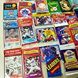 Rookies HQ 50 Original Unopened Packs of New & Vintage Baseball Cards (1986-2010) PLUS Pack 100 Soft Sleeves