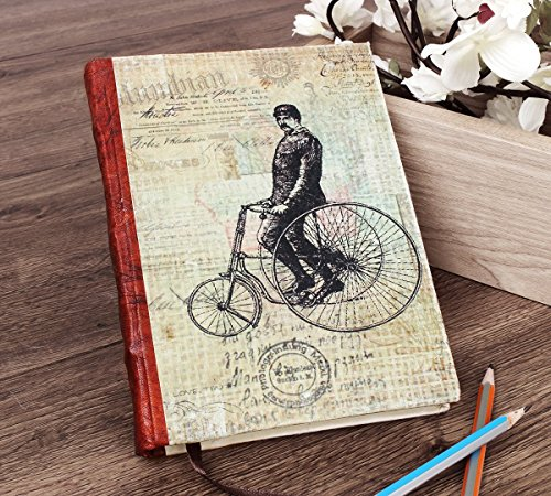 Back To School Personal Journal Organizer Planner Notebook Travel Book Diary with Unruled Handmade Pages (Straight Steerer) (Interesting Facts About Halloween 2017)