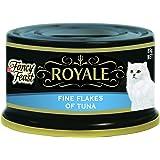 Fancy Feast Royale Fine Flakes of Tuna, Adult, 24x85g
