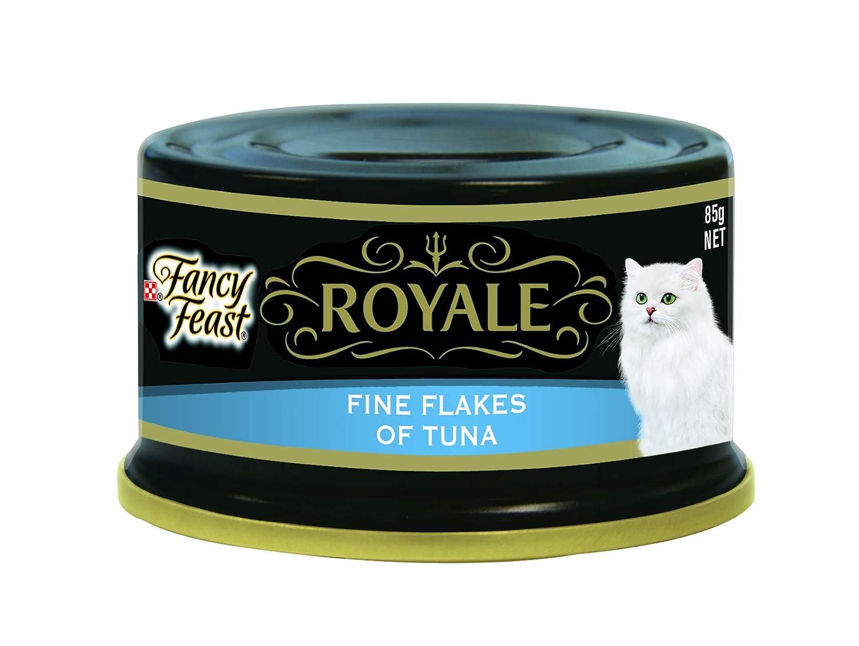 Fancy Feast Royale Fine Flakes of Tuna, 24X85g