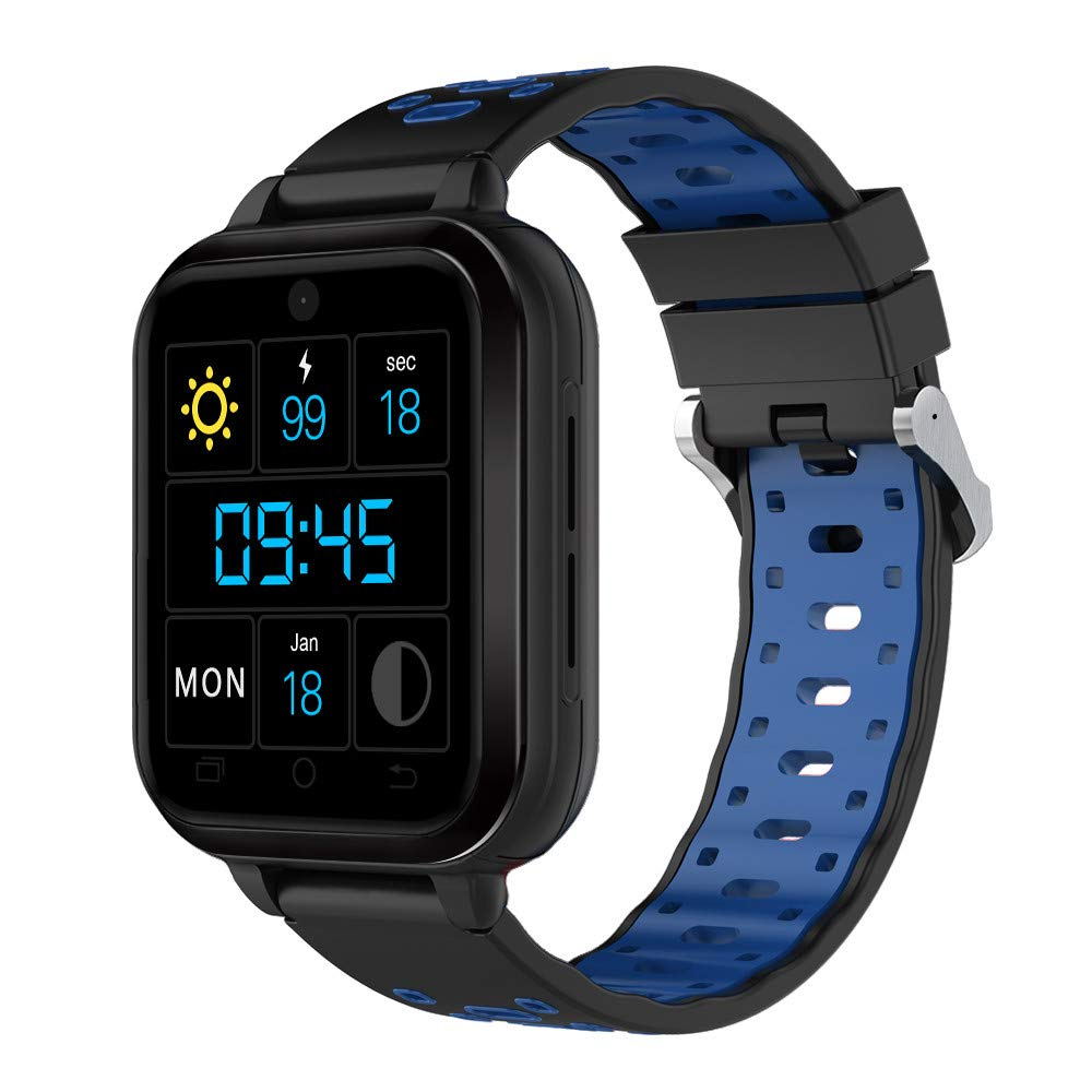 IKevan Q1Pro Android6.0 4G Phone Call 1G RAM 8G ROM GPS WIFI IP67Waterproof Smart Watch (Blue)