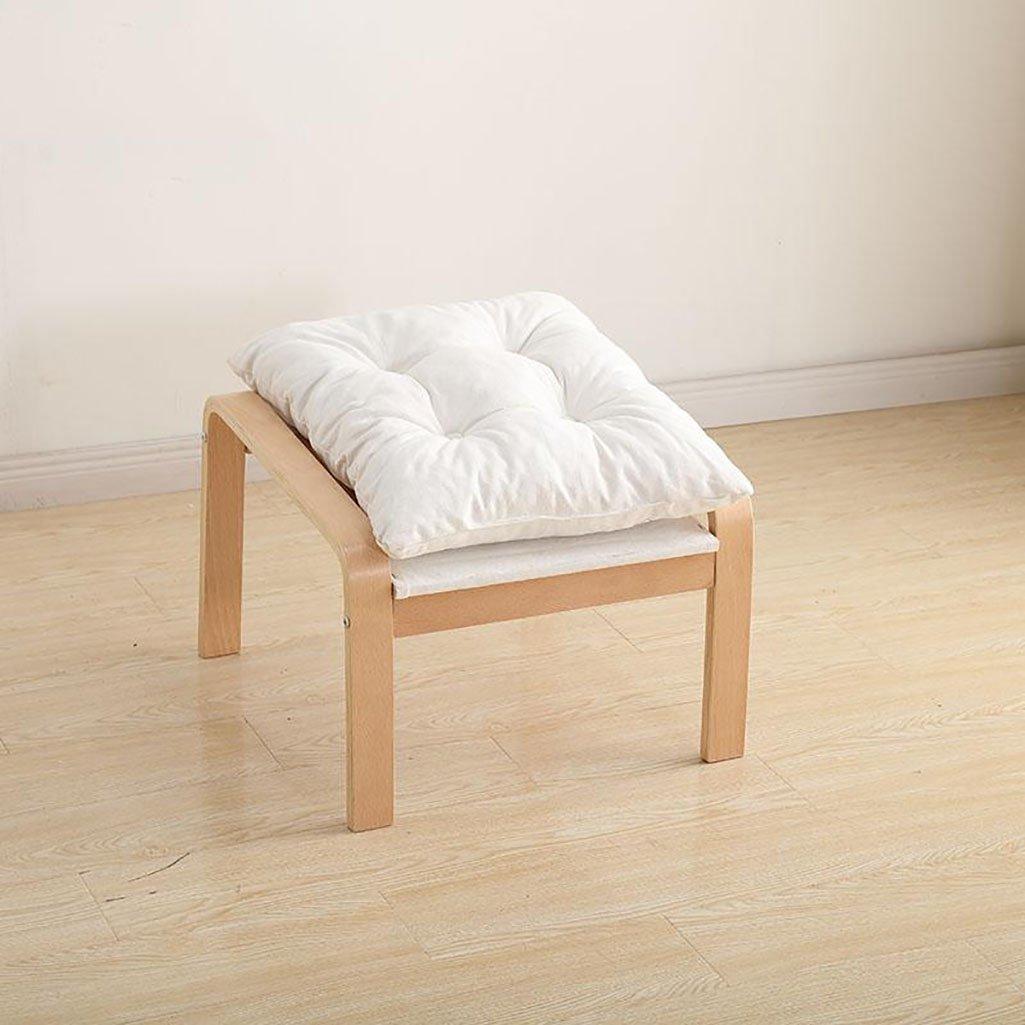 Amazon.com: BJLWTQ Solid Wood Footstool,Low Stools Small ...