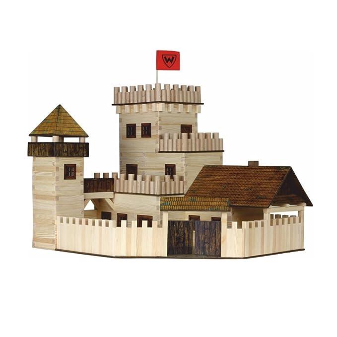 Bau- & Konstruktionsspielzeug-Sets Modellbauset Walachia Nr.26 Brücke Holzmodell Modell für Kinder ab 8 Jahren