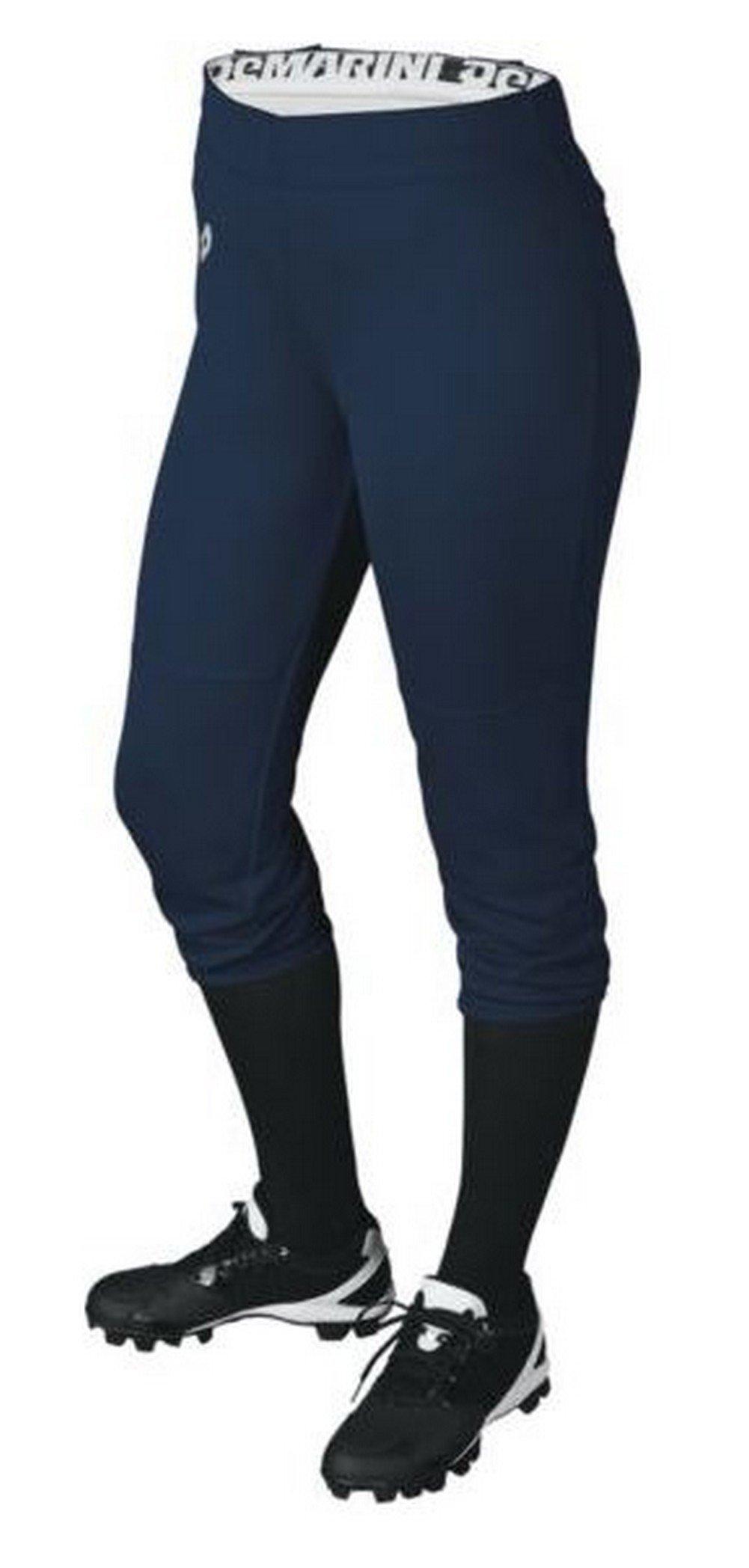 DeMarini Womens Sleek Pull Up Pant, Navy, Medium by DeMarini (Image #1)