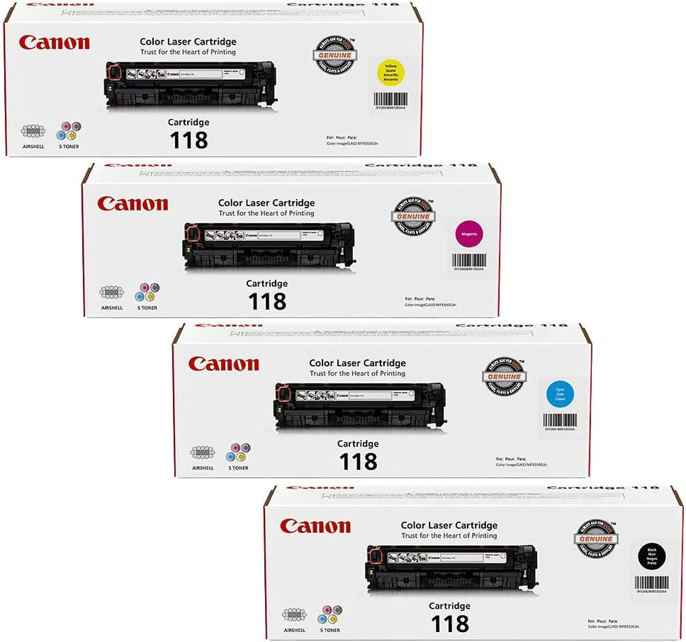 5 ink toner cartridge for Canon imageclass MF8580cdw cannon laser color printer