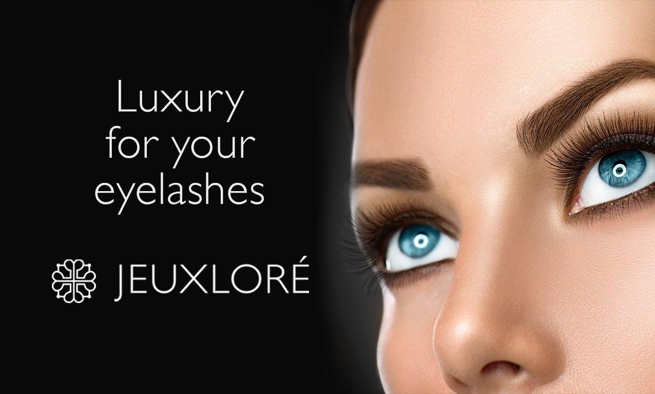 Jeuxlor Eyelash Growth Serum Thicker Longer Eyelashes
