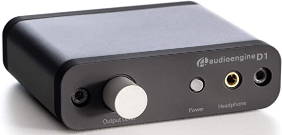 Amazon.com: Audioengine D1 24-Bit DAC, Premium Desktop Digital to Analogue Converter & Headphone Amplifier: Electronics