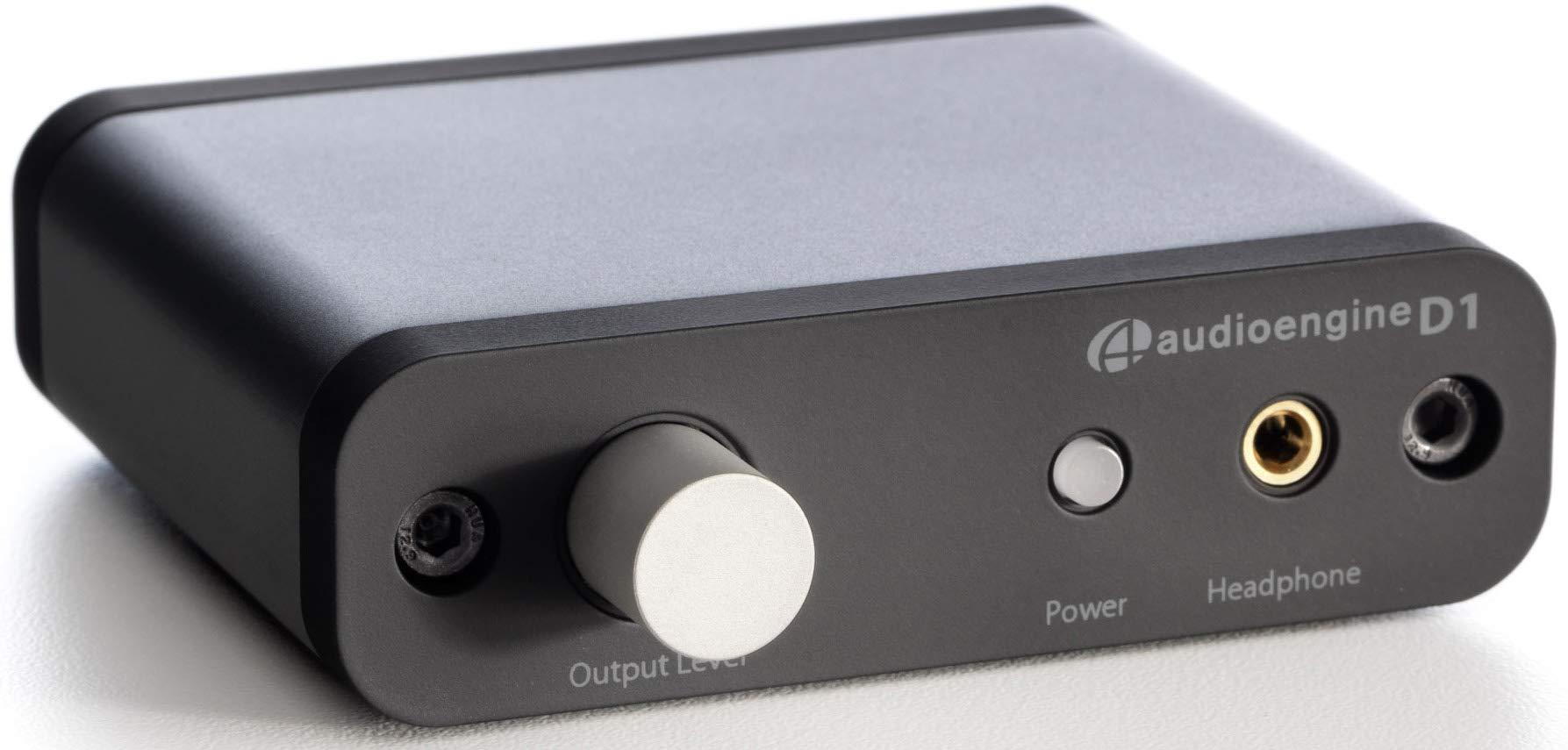 Audioengine D1 24-Bit DAC, Premium Desktop Digital To Analogue Converter and Headphone Amplifier product image