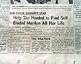 Best MARILYN MONROE Hollywood Los Angeles SUICIDE