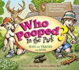 Front cover for the book Who Pooped in the Park? Great Smoky Mountains National Park by Steve Kemp