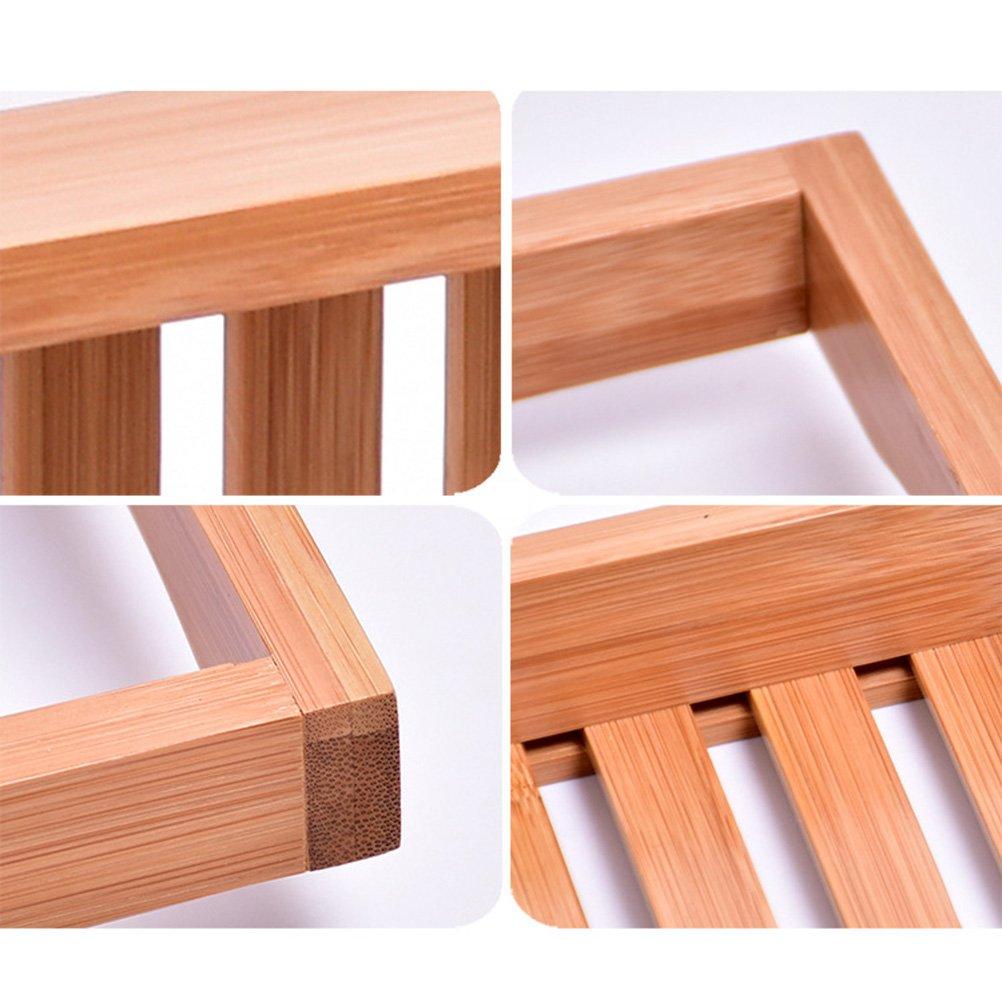 OUNONA Badewannenbrett Badewannenablage aus Bambus Badkuip Caddy Bad Tub Tray Organizer stabile Ablage f/ür Badewanne