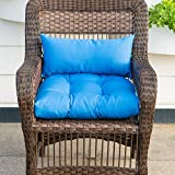 QILLOWAY Outdoor Patio Wicker Seat Cushions Group
