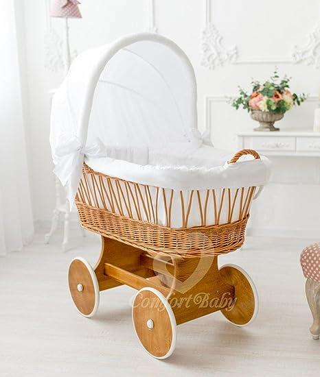 Moisés con mosquitera de Comfort Baby® Snuggly Baby. Con equipamiento All