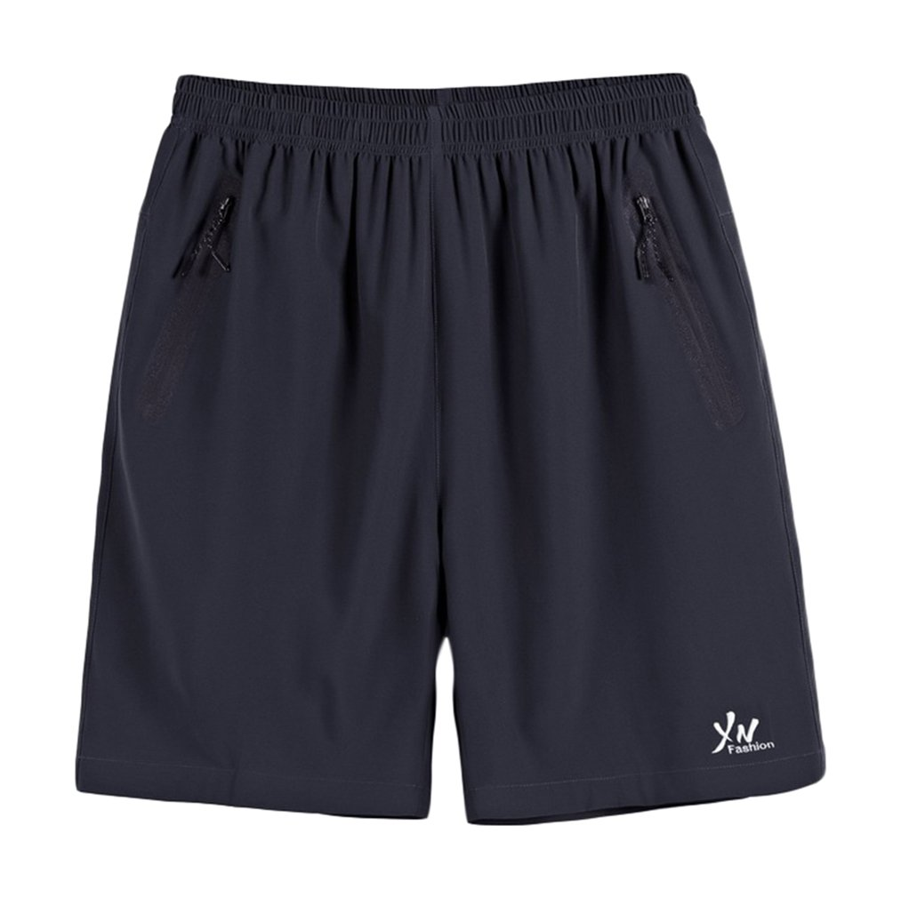 Jixin4you Men Plus Size Elastic Band Outdoor Sports Summer Beach Shorts JX4UA17630258