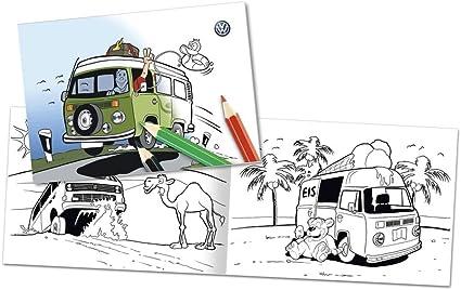Volkswagen Original Bulli Libro para Colorear 000087703ed