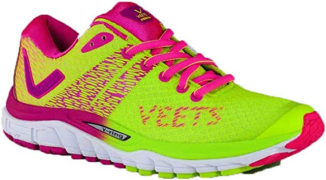 VEETS Inside 2.0 - Zapatillas de running para mujer, color rosa y amarillo PE 2018, Amarillo (amarillo), 38 EU: Amazon.es: Zapatos y complementos