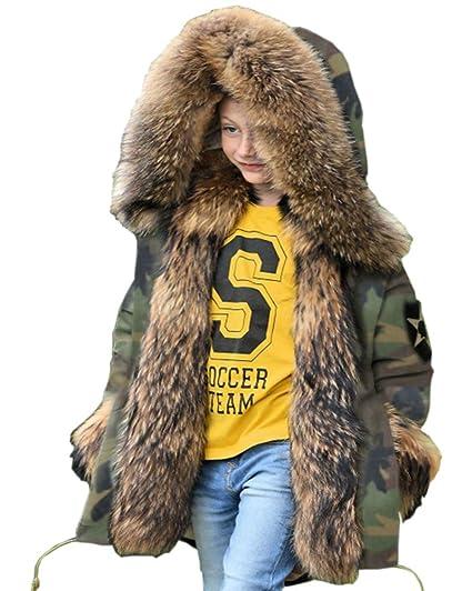 c2adf9f64 Aofur Boys Coats Girls Fleece Coat Hood Childrens Fashion Thick ...