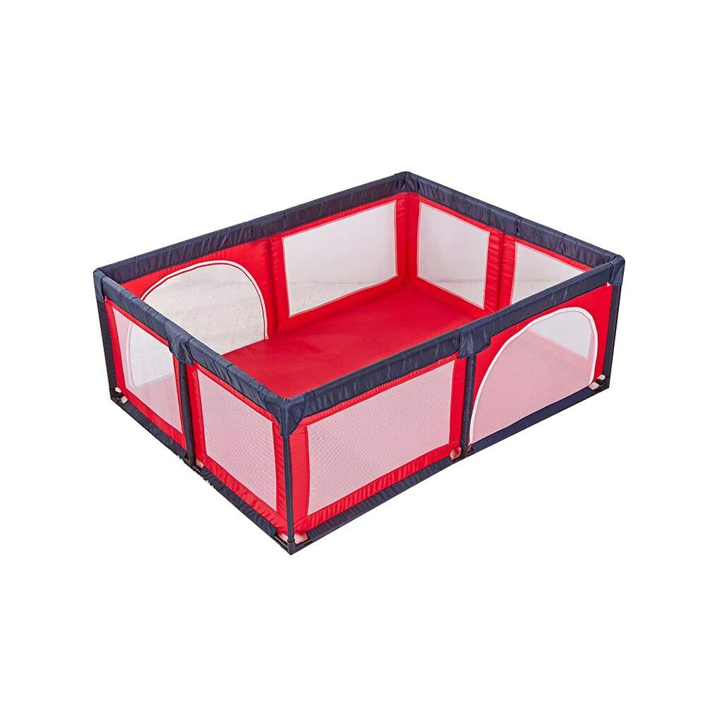 子供のフェンス中庭子供赤ちゃんの男の子屋外屋内ポータブルセーフティフェンス (色 : Red)  Red B07P1RFNZJ