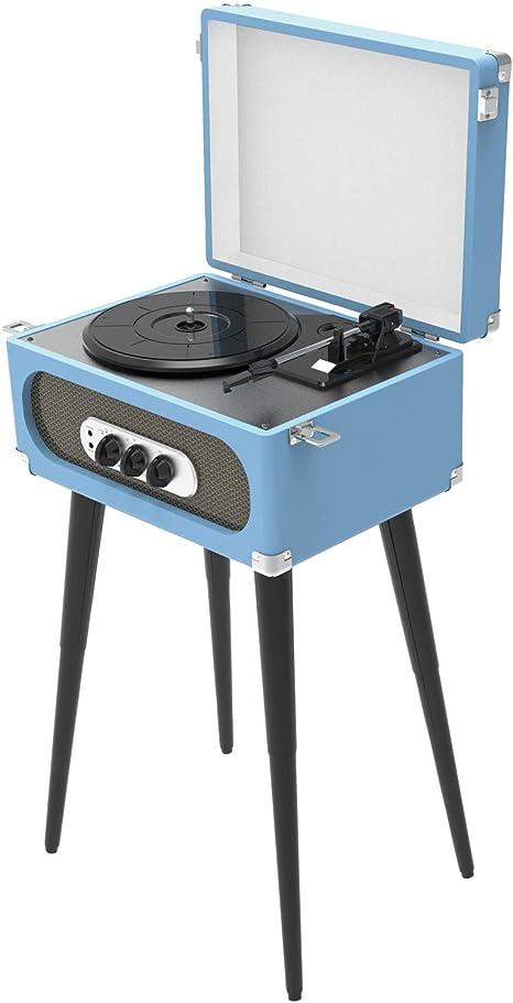 Amazon.com: Soporte giratorio Bluetooth retro y radio FM con ...