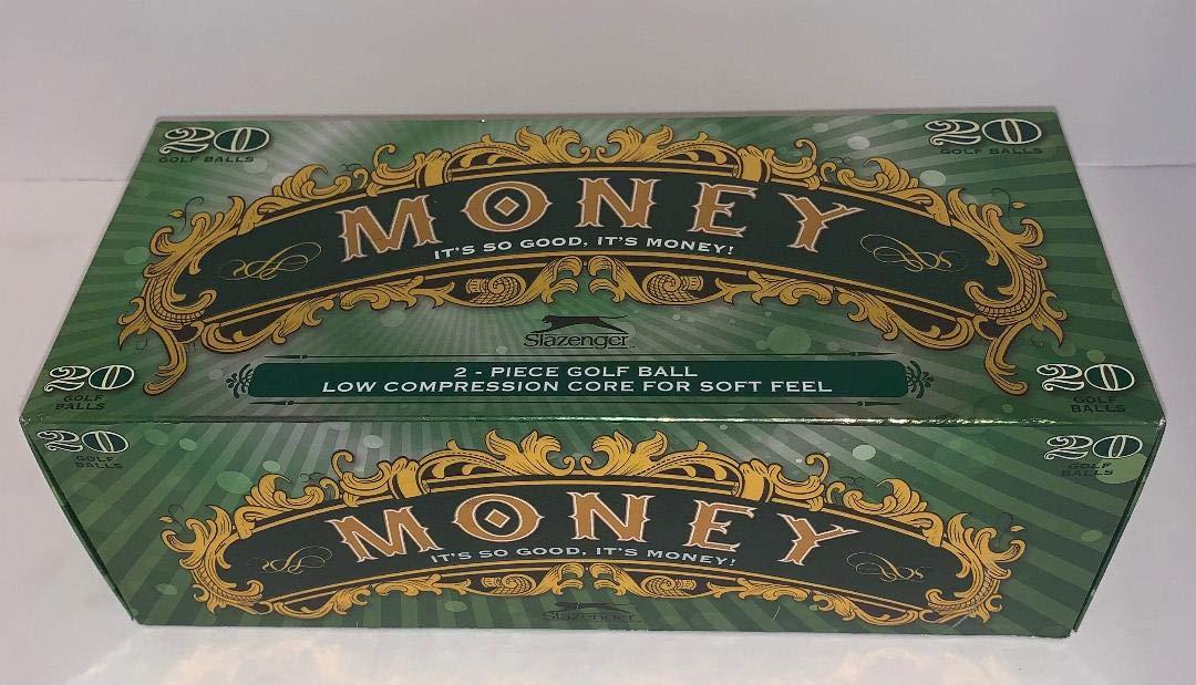 dbd8fe6377 2016 Slazenger Money (20 Pack), Distance Balls - Amazon Canada