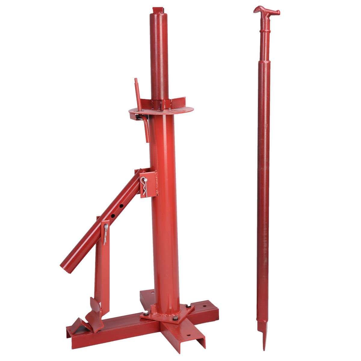 37'' Red Steel Manual Tire Changer