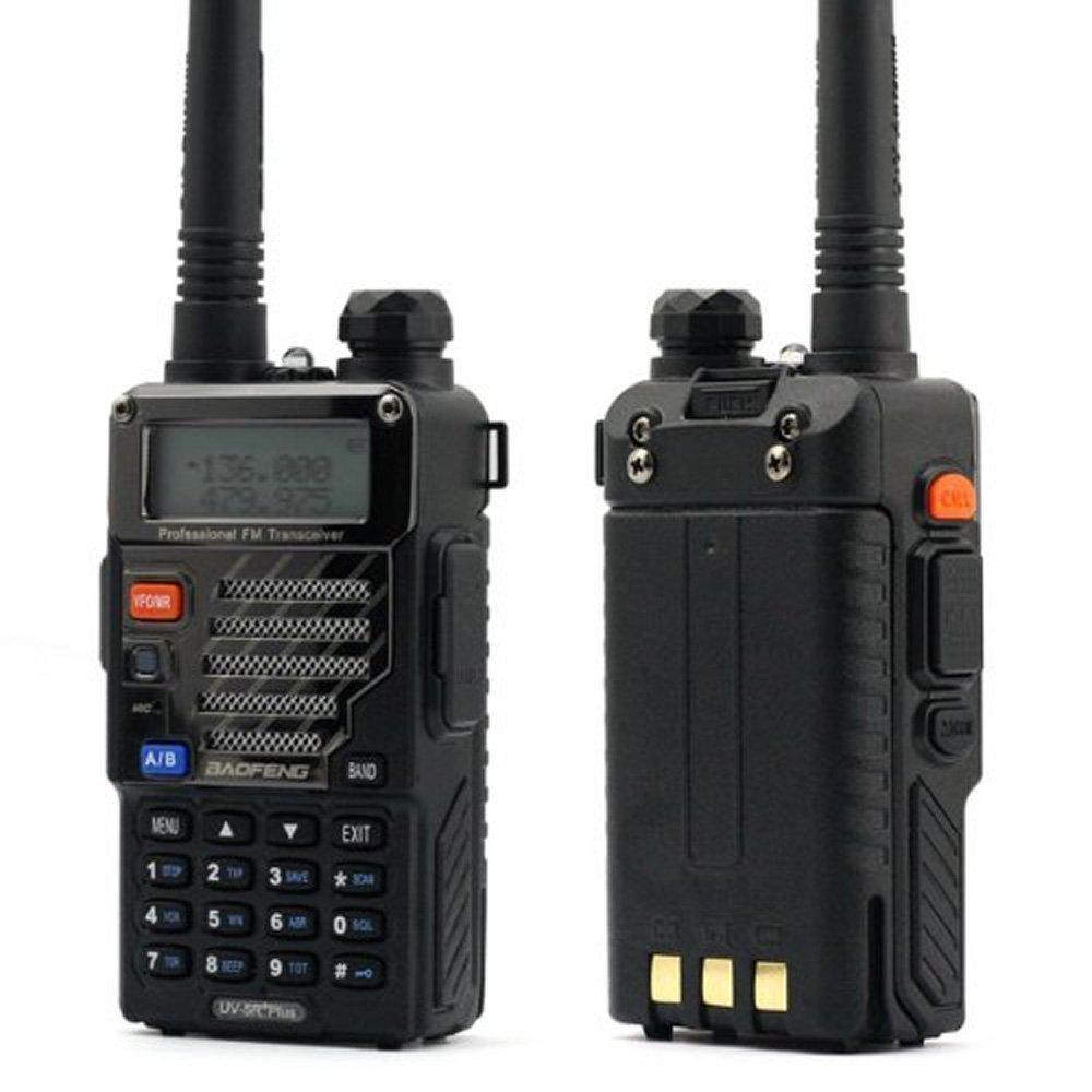 NSKI UV-5RE Plus Dual Band U/V 2-Way Radio 136-174/400-520MHZ UV5R Walkie