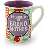 Enesco Our Name is Mud by Lorrie Veasey 16-Ounce Promoted to Grandmother Mug, 4.5-Inch