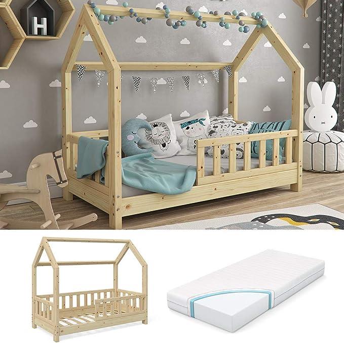 Cama Infantil Vicco Wiki 70 x 140 cm Natural Cama Infantil ...