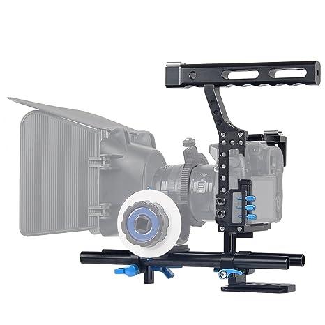 Fomito Estabilizador de cámara para cámara réflex y vídeo cámara ...