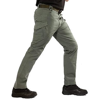 ReFire Gear Men s Military Assault Tactical Pants Lightweight Cotton  Outdoor Combat Cargo Trousers 24927be8405