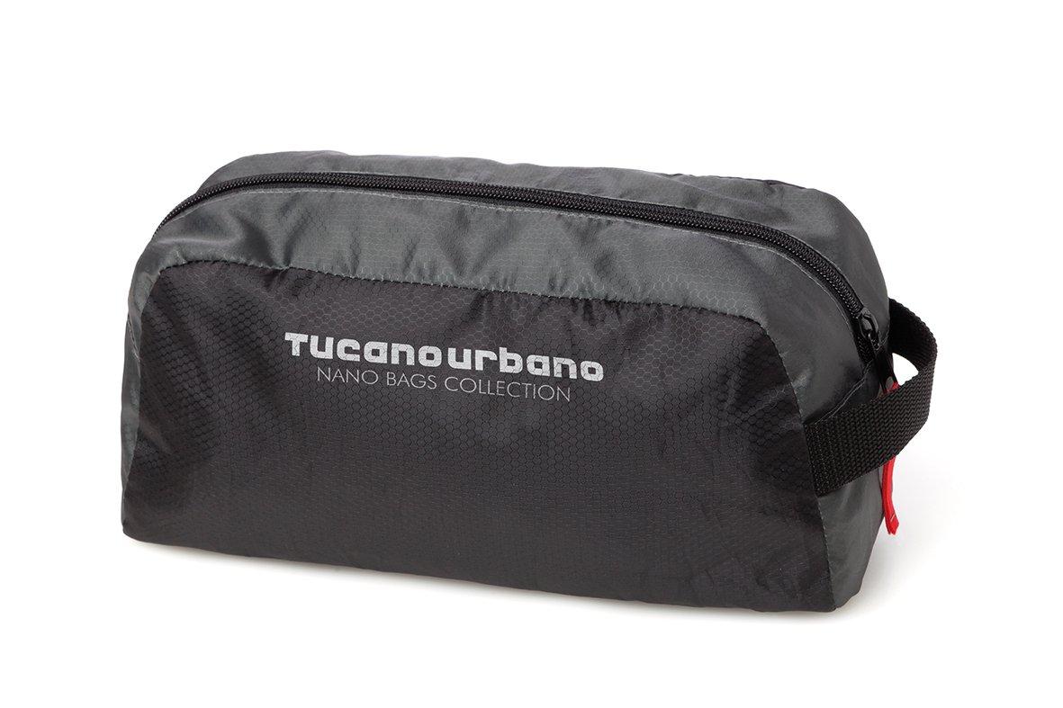 acqua-impermeabile Tucano Urbano 475NT NANO POCHETTE super-Compact beauty strenesse solo formato Titanium black
