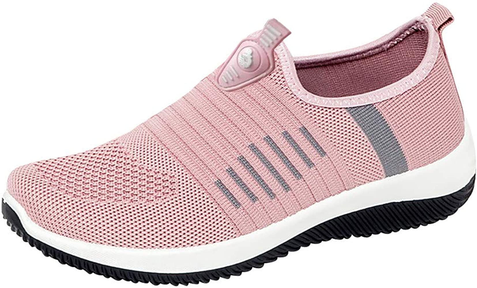 Elecenty Color sólido Zapatos Planos de Mujer Malla Estudiantes Transpirable Zapatillas de Deporte Running Casual Sneaker Botas Calzado Deportivo: Amazon.es: Ropa y accesorios