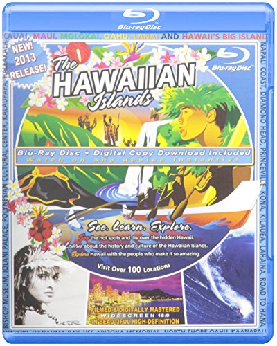 Video Postcard of the Hawaiian Islands Clam Shell [Blu-ray]