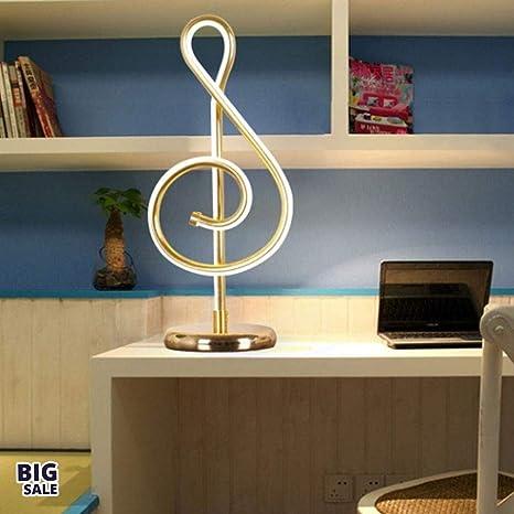 NICEE Lámpara de escritorio, lámpara de mesa de estudio de ...
