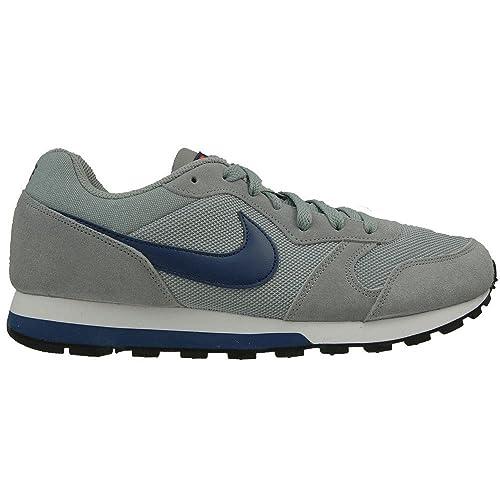 a921dc58 Nike MD Runner 2, Zapatillas de Deporte para Hombre, Gris (Stealth/Lyl  Bl-Ttl Crmsn-White), 38.5 EU: Amazon.es: Zapatos y complementos