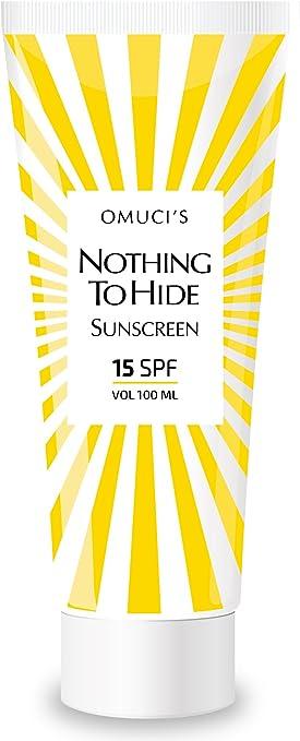 Protector solar respetuoso con el medio ambiente Nothing To Hide ...