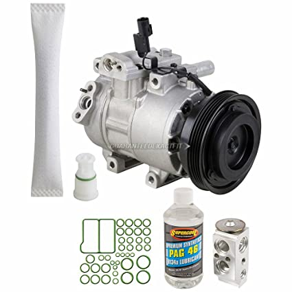 Amazon.com: OEM AC Compressor w/A/C Repair Kit For Kia Rio & Rio5 2006-2011 - BuyAutoParts 60-80478RN NEW: Automotive