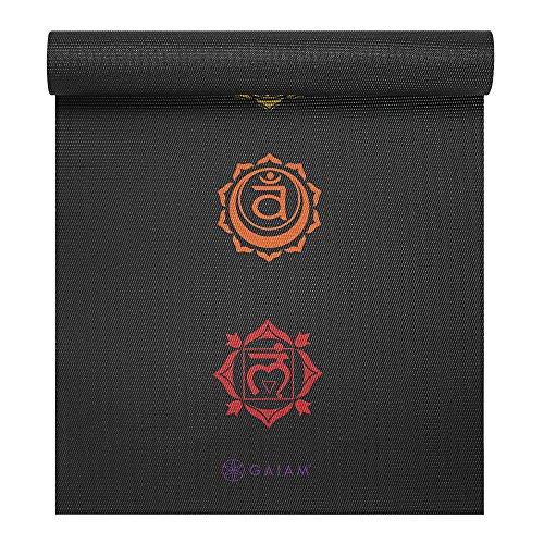 Gaiam Print Premium Yoga Mats • Beauty Products Health