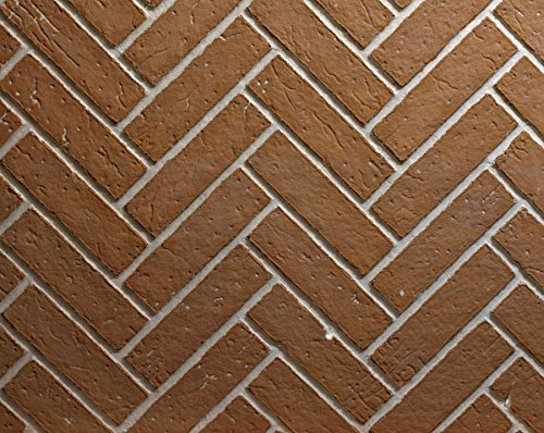 Ceramic Fiber Liner for 34 inch Keystone Fireplace - Herringbone Brick